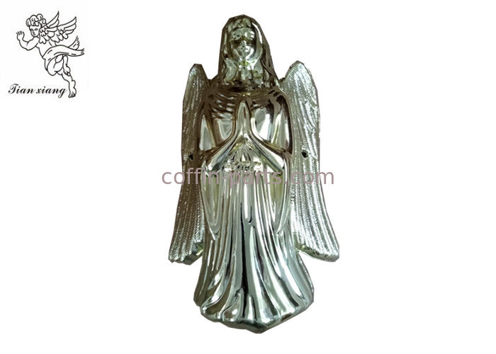 Light Gold Casket Corners Angel Pattern European Style PP / ABS Material Angel 002#